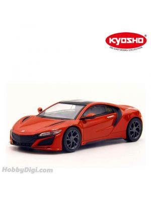 KYOSHO 1:64 Diecast Model Car - HONDA NSX  2019 Red