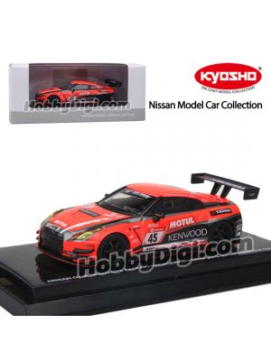 KYOSHO Nissan Model Car Collection 1:64 合金模型車 - Nissan GT-R Nismo GT3/ Kondo Racing (#45 Nürburgring 24hours race 2019 COLOR)