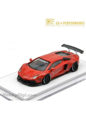 Premium Collection 1:64 Resin Model Car - Liberty Walk LB Performance LB700 (Red)