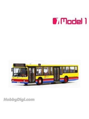 Model 1 1:76 Diecast Model Car- Citybus MAN NL262 11.7m - 1502 rt. 41A Wah Fu Via Aberdeen