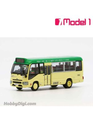 Model 1 1:76 Diecast Model Car - AMSPT Toyota Coaster (LPG 19 Seats) - VR411 rt. 55 World-Wide House