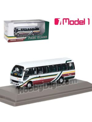 Model 1 1:76 Diecast Model Car- Park Island Toyota Coaster BB59R (Airport Coach Livery) - LE5811 rt.NR334