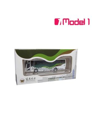 Model 1 1:120 Diecast Model Car - Kwoon Chung Bus Man A91 - PE8637