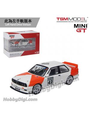 TSM 1:64 Mini GT 香港限定版合金車 - BMW M3 E30 #42 1991 Deutsche Tourenwagen Meisterschaft Hong Kong Exclusive (左手軚)