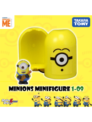 Takara Tomy Palycolle Figure - Minions Vol.1 (Normal 09)