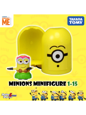 Takara Tomy Palycolle Figure - Minions Vol.1 (Normal 15)