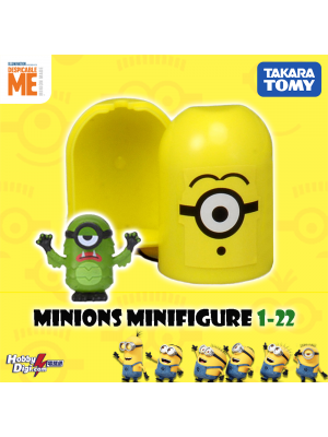 Takara Tomy Palycolle Figure - Minions Vol.1 (Normal 22)