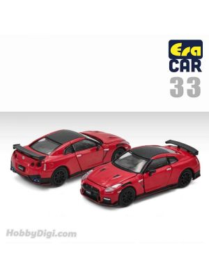 Era Car 1:64 Diecast Model Car - 33 Nissan GT-R (R35) Nismo 2020 Red