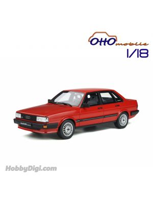 OttO Mobile 1:18 Resin Model Car - Audi 80 quattro B2 Mars Red