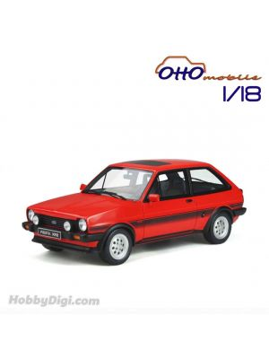OttO Mobile 1:18 Resin Model Car - Ford Fiesta XR2 MK1 Sunburst Red