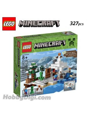 LEGO Minecraft 21120: The Snow Hideout