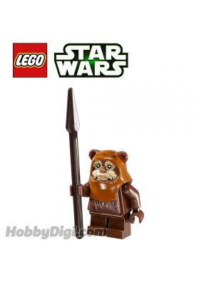 LEGO Loose Minifigure Star Wars: Wicket with Tan Face Paint Pattern