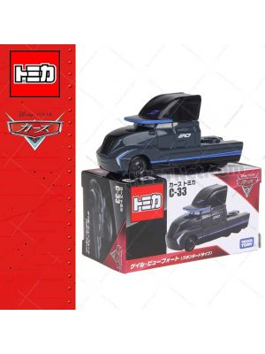 Tomica Disney Cars Diecast Model Car - C-33 Gale Beaufort Standard Type