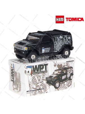 Tomica 二次創作合金車 - HUMMER H2 World Poker Tour