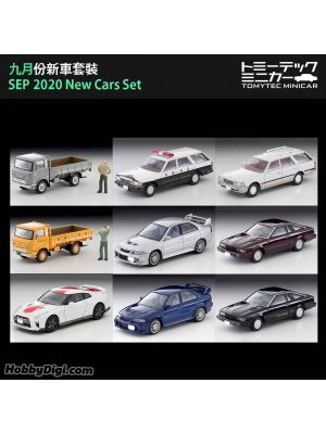 TOMYTEC Tomica Limited Vintage NEO Diecast Model Car - SEP 2020 New Cars Set of 9