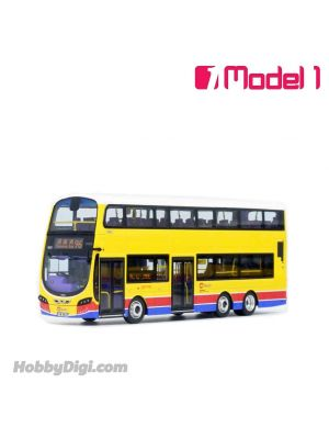 Model 1 1:76 Diecast Model Car- Citybus Volvo B9TL 11.3m - 9552 rt. 96 Causeway Bay