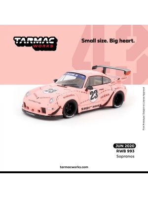 Tarmac Works 1:43 Diecast Model Car - RWB 993 Sopranos