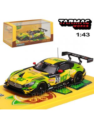 Tarmac Works COLLAB43 1:43 合金模型車 - Mercedes-AMG GT3 GT World Challenge Asia ESPORTS Championship 2020 Darryl O'Young (Official Collaboration with 維他 Vita)