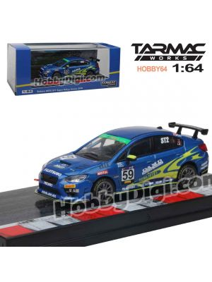 Tarmac Works HOBBY64 Diecast Model Car - Subaru WRX STI Super Taikyu Series 2018