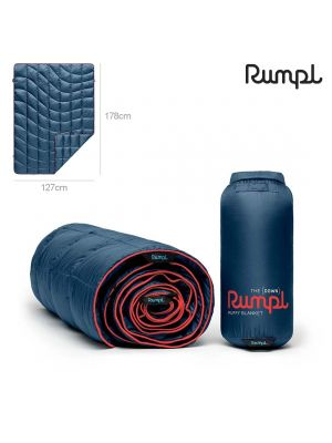 Rumpl 便攜式羽絨戶外露營毯 Puffy Down Blanket (Deepwater Blue)