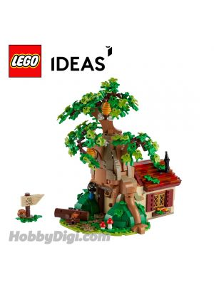 LEGO Loose Decoration Ideas : Pooh Bear's house in Hundred Acre Wood