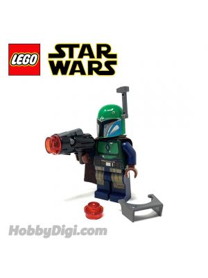 LEGO Loose Minifigure Star Wars : Green Mandalorian