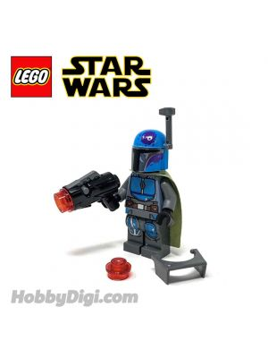 LEGO Loose Minifigure Star Wars : Blue Mandalorian