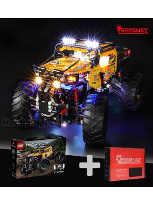 Briksmax Light Kit + LEGO Technic 42099: 4X4 X-treme off-roader