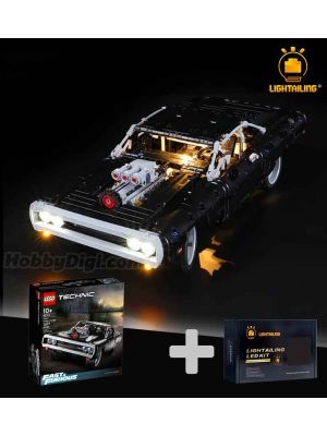 Lightailing Light Kit + LEGO Technic 42111 : Dom's Dodge Charger