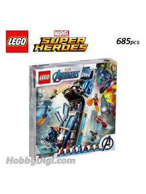 LEGO Marvel Superheroes 76166 : Avengers Tower Battle
