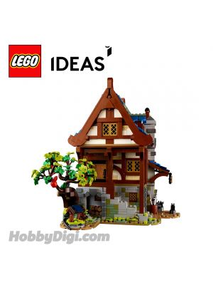 LEGO Loose Decoration Ideas : 3-level building of Medieval House