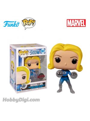 Funko Pop! Heroes 567 : Invisible Girl (Translucent)