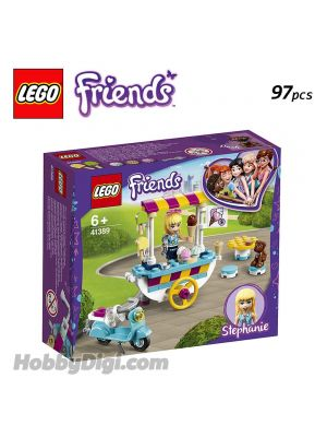 LEGO Friends 41389: Stephanie's Mobile Ice Cream Cart