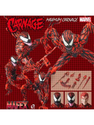 Medicom Toy MAFEX Action Figure - Carnage (Comic Ver.)