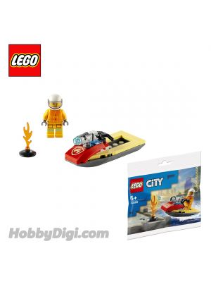 LEGO City Polybag 30368: Fire Rescue Water Scooter