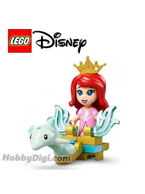 LEGO Loose Minifigure and Accessories Disney : Ariel with a dolphin