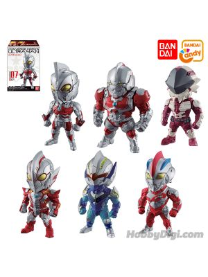 Bandai Candy - Converge Hero's Ultraman Vol.2 (Set of 6)