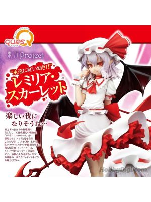 QuesQ 1/8 PVC Figure - Eternally Young Scarlet Moon Remilia Scarlet