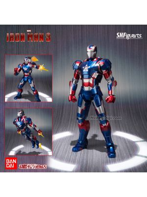 [JP Ver] Bandai S.H.Figuarts Tamashii Web Shop Exclusive Action Figrue: Iron Patriot