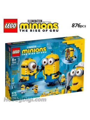 LEGO Minions 75551: Brick-built Minions and their Lair