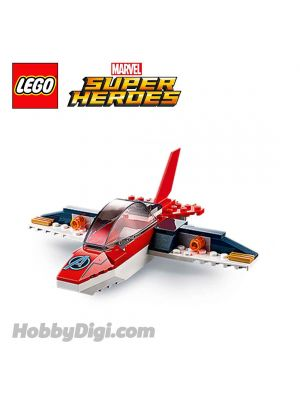 LEGO Loose Machine Marvel : Avengers Red Quinjet