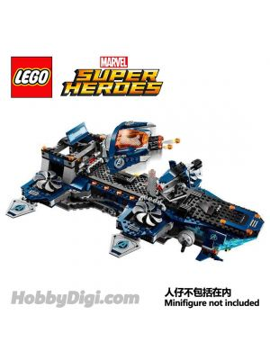 LEGO Loose Machine Marvel :  Marvel Avengers Helicarrier