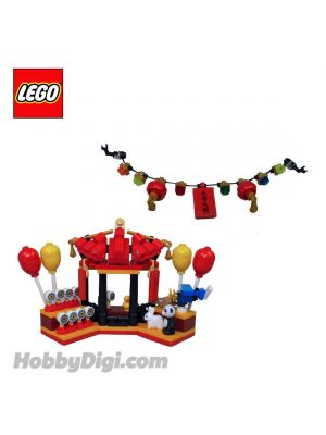 LEGO Loose Decoration Seasonal : The Toy Stall and Lantern