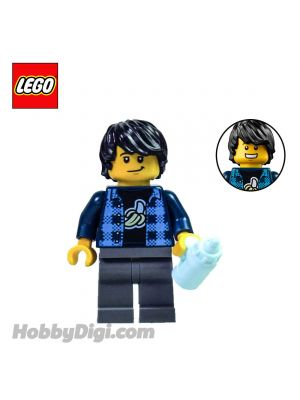 LEGO Loose Minifigure Seasonal : Young Dad with a Milk Bottle