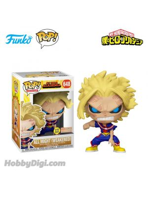 Funko Pop! Animation 系列 648 : 歐爾麥特 All Might (Weakened - Glows in the Dark)《我的英雄學院》