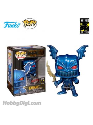Funko Pop! Heroes 313 : Batman the Merciless (Blue Metallic)