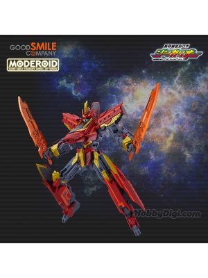 Good Smile Moderoid Model Kit - Black Shinkalion Kurenai