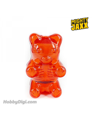 Mighty Jaxx 21.6cm 模型 - Funny Anatomy Gummi Bear (Clear Red)
