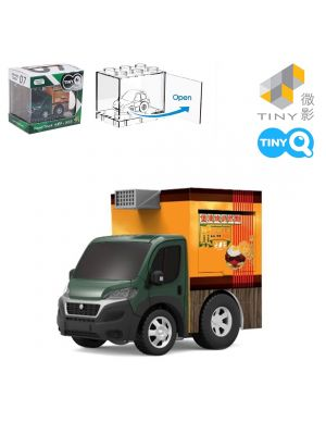 Tiny Q Pull Back Diecast Model Car Pro-Series 07 - Food Truck