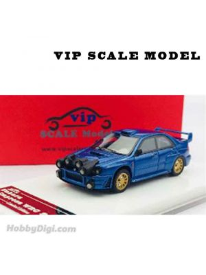 VIP SCALE Model 1:64 Diecast Model Car - SUBARU WRC 2002 (Normal Lights)